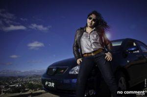 La chanteuse Bodo nous emmène faire un tour pour tester la nouvelle BYD F3R de Continental Auto