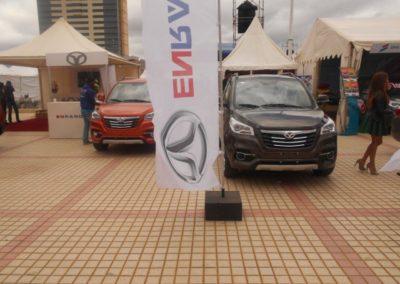 Voiture Continental Auto Salon de l'Auto Madagascar 2015