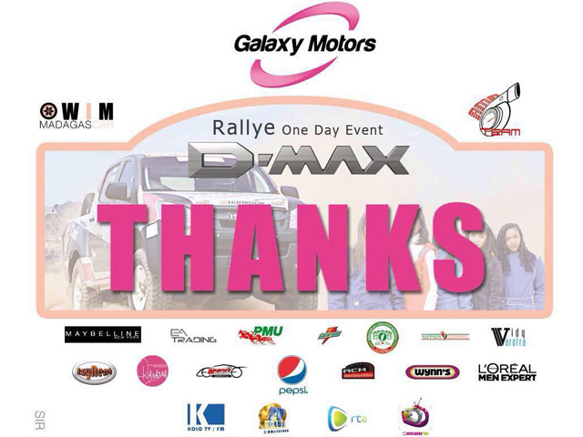 Bravo Galaxy Motors et WIMS